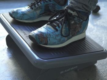 Sit and Move Footrest; SAM Footrest; ergonomic adjustable footrest