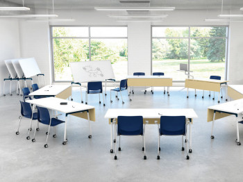 Active workspaces; Flexible spaces