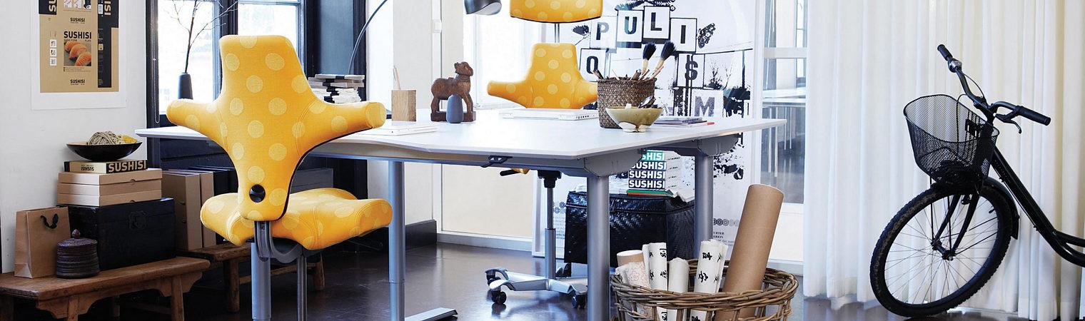 Good ergonomics into your home office setup