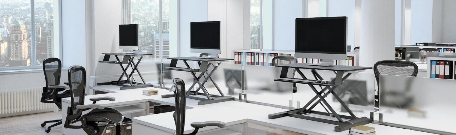 Portable height adjustable desking