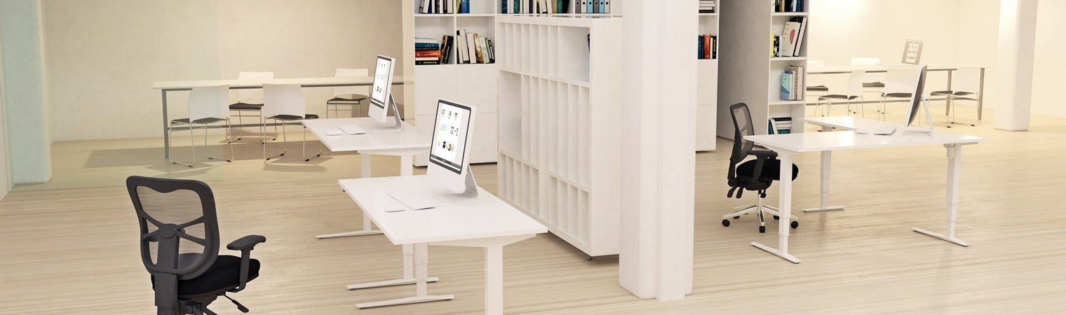 Straight and Corner Workstations