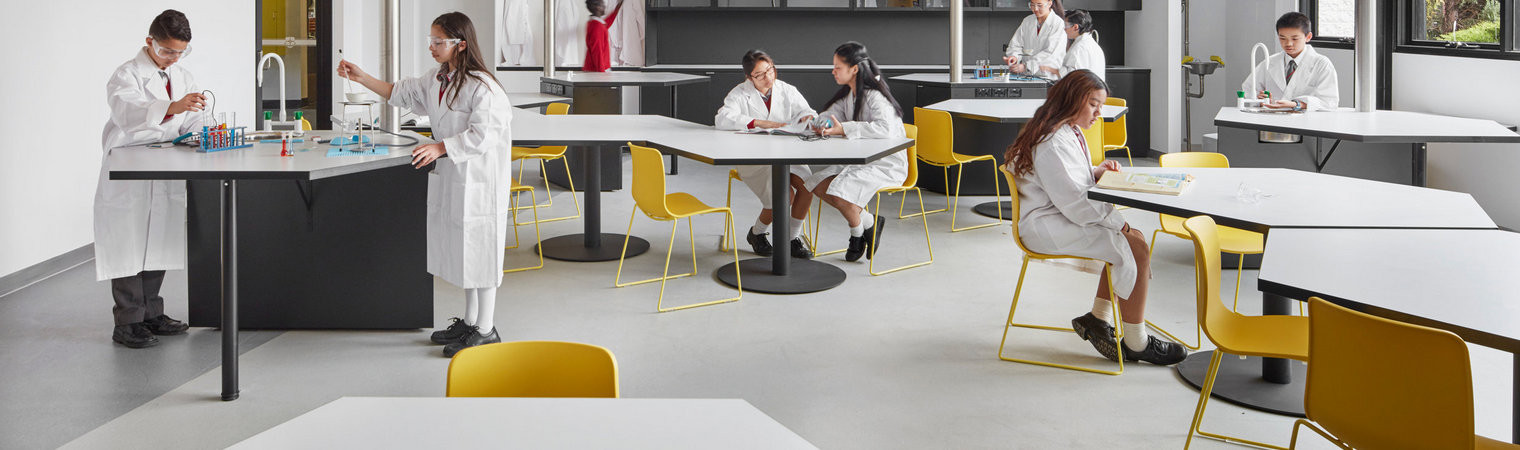 Chairs for school laboratories