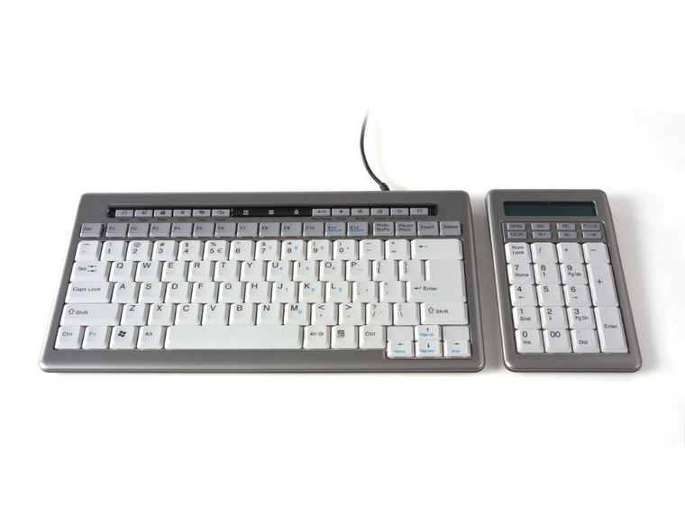 S-Board Keyboard and Numeric Keypad